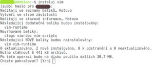 otestování funkčnosti aliasu